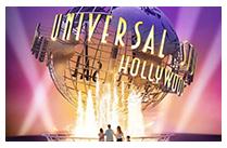 Los Angeles Universal studios/Santa Monica beach (B, D)