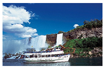 Niagara falls Maid of the mist/ cave of the winds/IMAX (B, D)