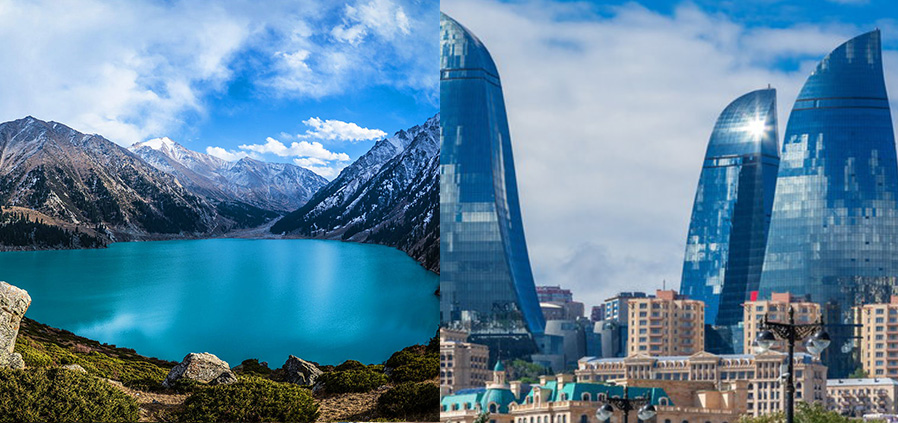 Almaty and Baku Package