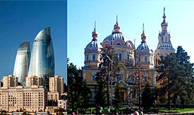 Almaty & Baku Package