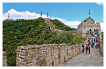 BEIJING – GREAT WALL OF CHINA WITH TWO WAY CABLE CAR