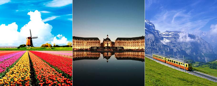 Holland, France & Switzerland