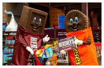 Washington – Hershey's Chocolate world - Niagara Falls