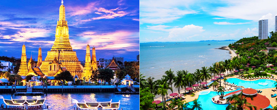 Pattaya Bangkok Tour Packages From Delhi India